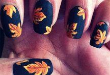 Autumn Nail Art Ideas / Inspiration for amazing nail art this autumn