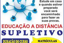 EDUCAÇÃO - SUPLETIVO A DISTÂNCIA