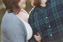 Curvy engagement photo poses