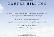 Castle Hill Dream Wedding / My fiance proposed on the Cliff Walk in Newport and we celebrated that night with dinner at the Castle Hill Inn. Would love to go back again to celebrate our upcoming wedding. / by Faith Black