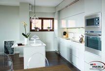 Biała kuchnia / White kitchen / O białej kuchni zrobionej przez nas w Krakowie. #kuchnia #whitekitchen #białakuchnia