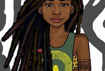 Cartoons black girls