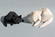 Elle's Origami Cats