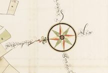 Les roses des vents / Découvrez une sélection de roses des vents des cartes des Archives nationales