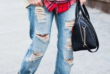 Ripped jeans / Ripped jeans, jeans strappati, destroyed