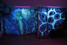 Black light murals