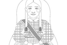 Multicultural Coloring / Kids coloring sheets, Adults coloring sheets, Cultural coloring sheets, Diversity coloring pages, Printable coloring sheets, DIY coloring pages, Folk dress coloring sheets, Folk costumes coloring pages, Traditonal dress coloring sheets, Art coloring sheets, Women's fashion coloring sheets