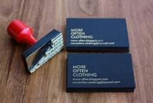 beautiful business cards / by Karen Blake