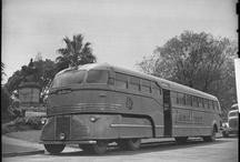 vintage buses & cars
