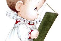 Bebes angelitos navidad