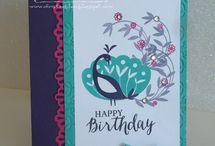 Beautiful Peacock Cards