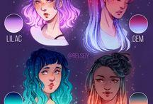 female character Aesthetics