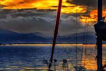 Sailing and happy