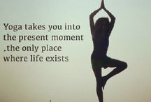 Yoga / Inspirational photos and quotes, all yoga-related.