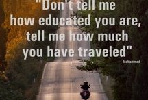 Favorite Travel Quotes / Collection of our favorite travel quotes