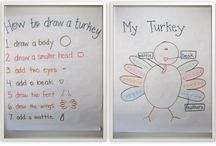 Teaching: November (Turkeys and Pilgrims)