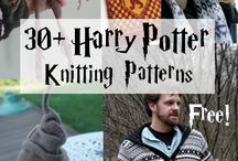 Harry Potter knitting