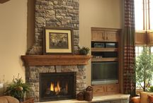 Fireplace-stone