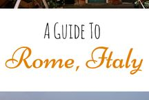 Travel Italy / Travels through Italy: the who, the How, the Where