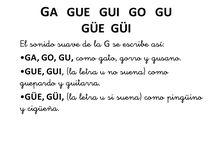 sonigo letra G