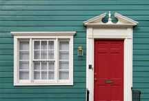 house exterior color / by Kimberly Fiser