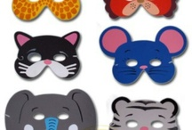 Face paint animal masks