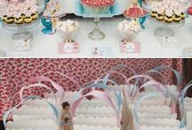 Doll tea party mood board