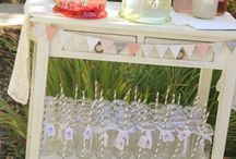 Cocktail and bar ideas baby shower