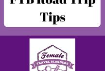 FTB Road Trip Tips / This is a place for Female Travel Bloggers to share their best road trip tips, road trip tips, etc. Post no more than 10 pins a day. For every Pin you add to this board, you must Re-Pin One of someone else's. VERTICAL pins only! If you would like to be a collaborator for this group board, visit http://bit.ly/FTBPin request to join, fill out the form, and search for the Pinterest Group Board thread.