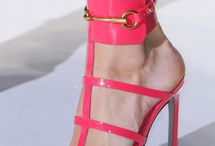 Shoes:  pink