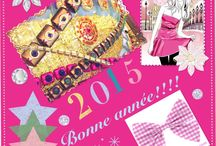 Noël / Cartes de voeux et images des fêtes de fin d'année / by Mademoiselle Sandrillana