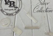 Silver ~By Vintage Branding Co. / Our petite silver filled (not plated) products are sure to make a lasting impression. Perfect for everyday wear! Customize your look.