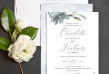 Dusty Blue Wedding Ideas / Dusty blue wedding ideas and inspiration