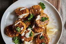 Falafels & no-meat balls