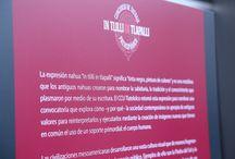 """In Tlilli in Tlapalli: tatuaje prehispánico / La expresión nahua In tlilli in tlapalli significa """"tinta negra, pintura de colores"""" y es una metáfora que los antiguos nahuas crearon para nombrar la sabiduría, la tradición y el conocimiento que plasmaban a través de su escritura y que hoy vemos reinterpretada y plasmada a través de los tatuajes.  Septiembre 2015 a enero 2016"""