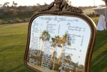 Wedding Seating Charts and Table Plans / Ideas and Inspirations for Seating Charts and Table Plans