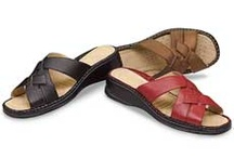 My Favorite Sandals / MyFavoriteShoeStore.com® offers attractive and comfortable sandals including slides and slingback styles.  / by MyFavoriteShoeStore.com®