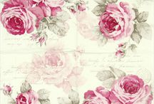 Shabby Chic and Vintage ~decoupage