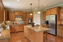 Captivating Kitchens / The kitchen is where family and friends gather. Check out our favorite MSH kitchens.