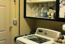 Jazzy Laundry room