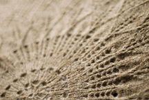 knitting:  lace