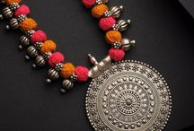 saree necklace