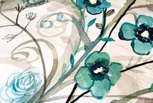Floral and Nature Watercolors