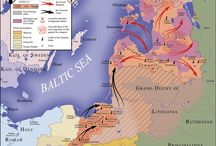 1251-1300 Germanic - Military / The Teutonic Knights, a Germanic military order, were active in the HRE areas from c.1190 - present. There were headquartered as follows: Acre (1192–1291), Venice (1291–1309), Marienburg (1309–1466), Königsberg (1466–1525) and Mergentheim (1525–1809)  / by Heather Clark (Kirstyn von Augsburg)