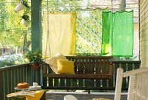 Outdoor Curtains / by Susan Preston