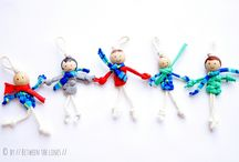 macrame puppets