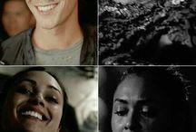 Bellamy,Clarke,Octavia,Jasper,Raven Monty,Jon.......