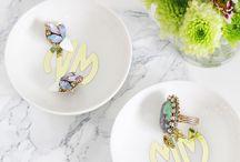 Earrings / A collection of Ela Design Studio Earrings