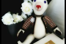 GSBears - Chanel / GSBears has created a very special collection, based on Chanel style. High class Teddy Bears for a special clients!