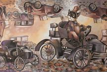 Художник Надежда Соколова. Батик. / The Artist Nadezhda Sokolova. Batik.